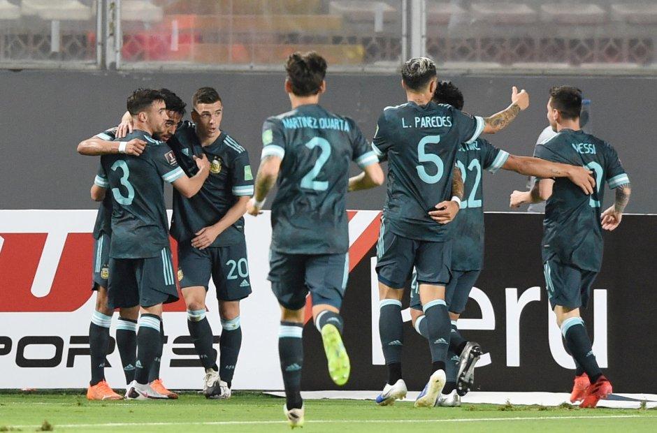 Argentina jugó bien y le ganó a Perú para seguir prendido - La Unión Digital